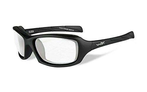 97ce9c55b0e Amazon.com  Wiley X Men s Sleek Clear Matte Protective Sunglasses ...