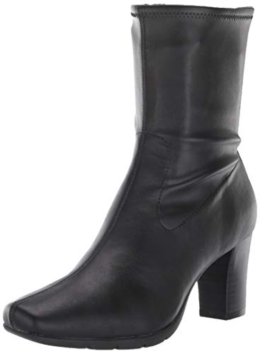 Aerosoles Women's Cinnamon Mid Calf Boot, Black, 8.5 M US