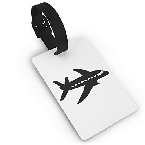 Mini Luggage Tag Airplane PVC Business Card Holder for Baggage Bag Name Address ID Label Travel Identifier Accessories