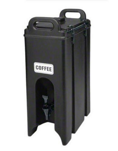 Cambro 500lcd-131 Polyurethane 4.75 Gal. Insulated Beverage Dispenser in Dark Brown