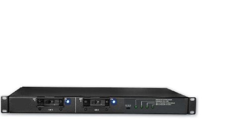 Eaton Electrical - T2235-F4-CFB09L - Eaton Powerware ePDU 6-Outlets 5.76kVA PDU - 2 x IEC 60320 C19, 4 x IEC 60320 C13 - 5.76kVA - 1U Horizontal Rackmount (Powerware Switch)