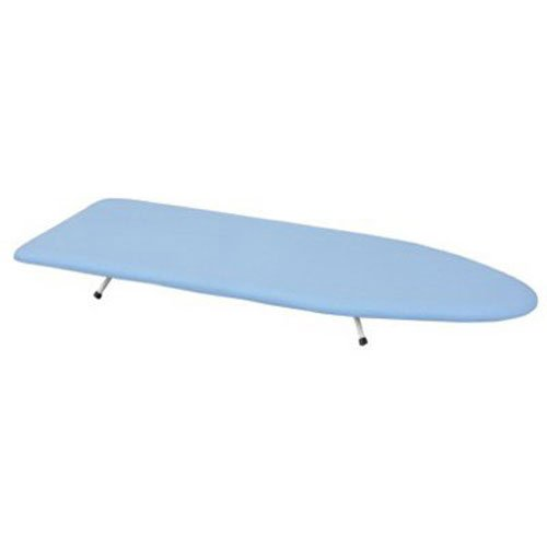 Household Essentials 120101-0 Collapsible Space Saving Tabletop Ironing Board with Folding Legs | Blue
