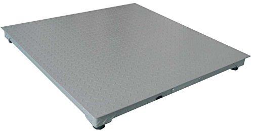 Bascula Industrial Suelo 3000Kg Plataforma 100x100Cm Reforzada: Amazon.es: Bricolaje y herramientas