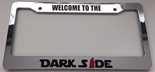 darth vader license plate frame - 6