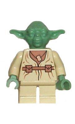 Yoda - LEGO Star Wars Figure - Star Yoda Figure Lego Wars