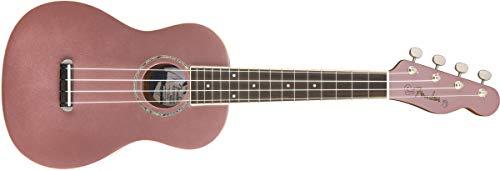 Fender Zuma Concert Uke, Walnut Fingerboard, Burgundy Mist