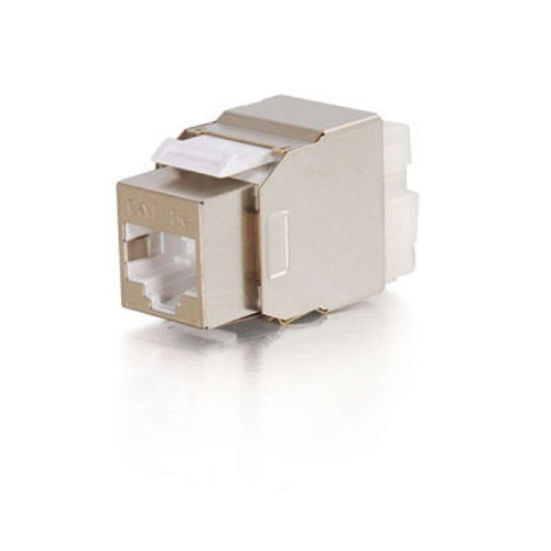 C2G/Cables to Go 03786 Cat5e Metal Shielded Keystone Jack by C2G (Image #1)