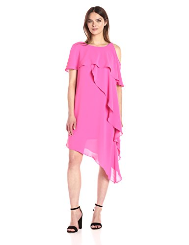 Adrianna Fiesta Kleid Damen Pink Papell fRqrUzf