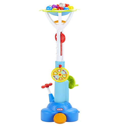 (Little Tikes Fun Zone Pop 'N Splash Surprise Game for Kids + Balls, Multicolor)