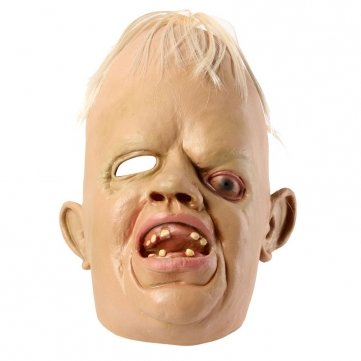 [Cyclopia Bucktooth Latex Mask Horrible Mask Halloween Supply by Completestore] (Sloth Goonies Costumes)