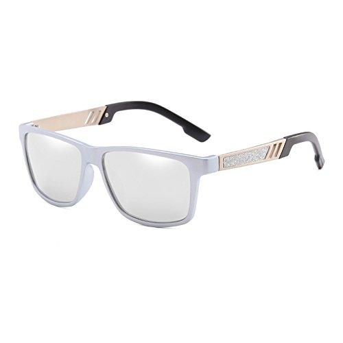 JR66278 Macho Sol polarizadas de Moda Revestimiento de Gafas Gafas Sol de Hombre Conducción de C4 UV400 Puntos Espejo JR66278 Sunglasses C4 Gafas TL Frame Gafas Negros Sol de OnBFTTz