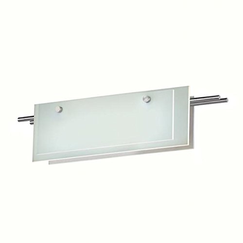 13 Sonneman Suspended Glass - Sonneman 3212-13LED LED Bath Bar, Silver