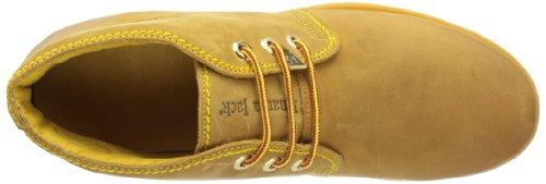 mujer cuero Vintage Jack Panama Bota Amarillo Panama Gelb Brogue B1 de dPY0wvxq