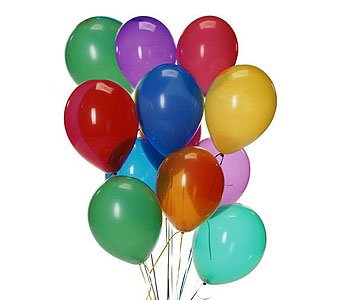 SamDog Supply 144 Count 12 inch Multi Color Latex Helium Quality Party Balloons for $<!--$10.99-->