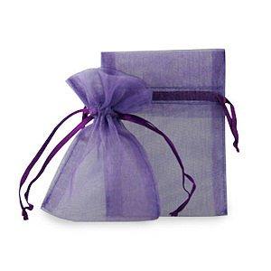 75, color morado, bolsas de Organza 9 x 12 cm, diseño de ...