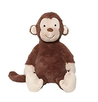 Mothercare brown snuggle monkey soft toy beanie plush 12 tall very mothercare brown snuggle monkey soft toy beanie plush 12quot negle Images