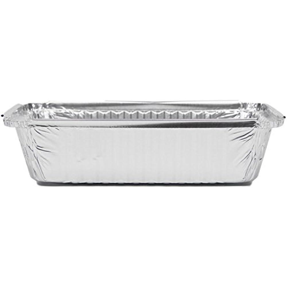 Rectangular Disposable Aluminum Foil Pan Take Out Food