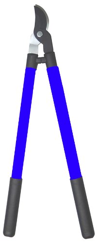COLOURWAVE Bypass Loppers with Steel Handles, 28-Inch, Blue