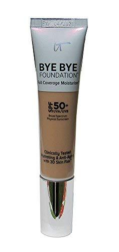 IT Cosmetics Bye Bye Foundation Full Coverage Moisturizer with SPF 50+: MEDIUM - 1 oz-30 ml by It Cosmetics