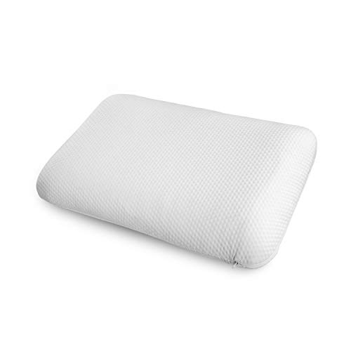 (Ambesonne Extra Elastic Visco Pad Comfortable Microfiber Fabric Sham, Viscoelastic Memory Foam Pillow Back Sleeper Machine Washable Outer Cover Ergonomic Orthopedic Pillow, 30