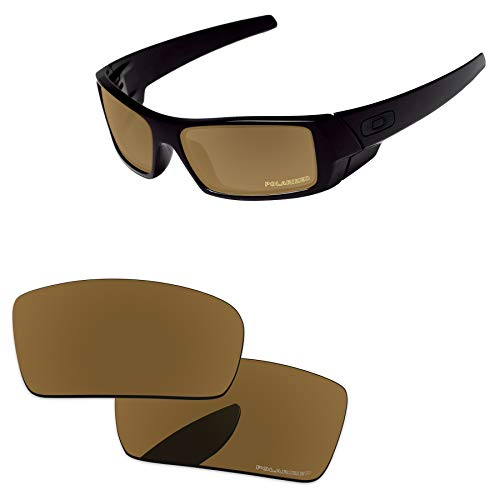 PapaViva Lenses Replacement for Oakley Gascan Bronze Golden - Polarized