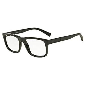 Armani Exchange AX3025 Eyeglass Frames 8178-53 - Black AX3025-8178-53