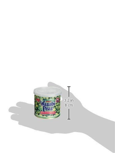 Hapi Hot Wasabi Peas, 4.9-Ounce Tins (Pack of 8) by HAPI (Image #6)