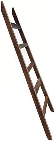 Spetebo Deko Escalera 100 cm – Vintage – Antiguo Madera Deko Elemento decorativo para pared toallero Retro Escalera de madera: Amazon.es: Juguetes y juegos
