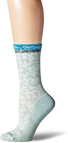 Price comparison product image Sockwell Women's Plantar Relief Cush Crew Socks,  Small / Medium,  Celadon