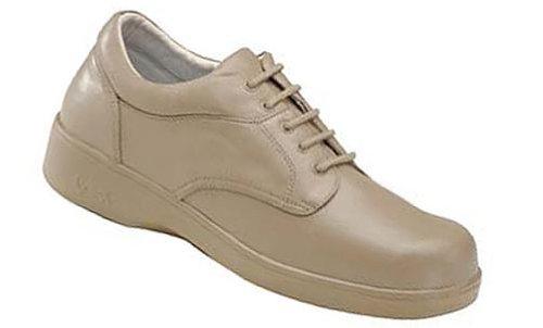 Apex B2400 Women's Ambulator Biomechanical Shoe - Lace Oxford - Taupe 10 X-Wide ()