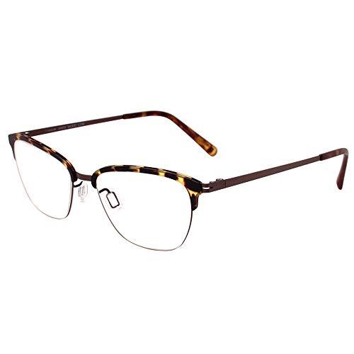 Modo 4060 TORT Tortoise Titanium Cat-Eye Eyeglasses 50mm