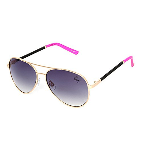 Betsey Johnson Women's BJ472125 Black/Pink One - Johnson Betsy Sunglasses