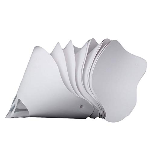 (Zoomarlous Thicken Paper Filter Funnel,Disposable Thicken Paper Filter Funnel for Photon SLA UV 3D Printer Accessories 10Pcs )