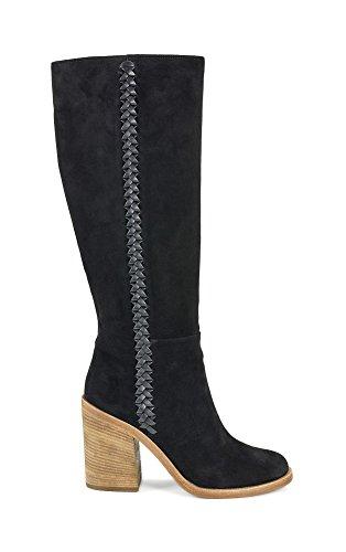 Boots Heeled Black In Ugg Suede Leather Maeva Women's Mahagony wtqBxP4IB