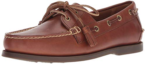 Polo Ralph Lauren Men's Merton Boat Shoe, Polo tan, 10 D US