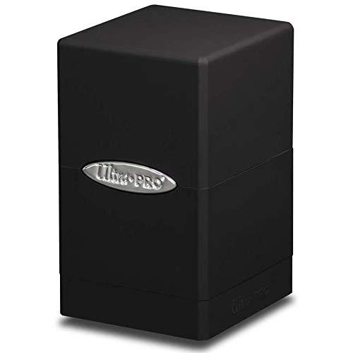 (Ultra Pro Satin Tower Deck Box | Black |)