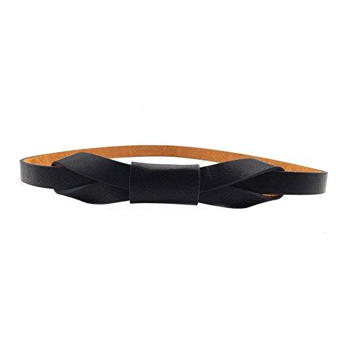 Womens Adjustable Leather Belts Fashion Skinny Minimalism Waist Strap 7 Colors Christmas ()
