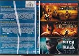 Triple Feature Film Set - The Scorpion King - The Chronicles of Riddick - Pitch Black - DVD