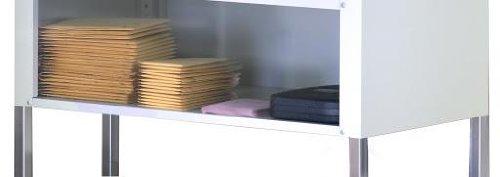 Mayline SLF48PG Mailflow-to-Go Systems Shelf with 48