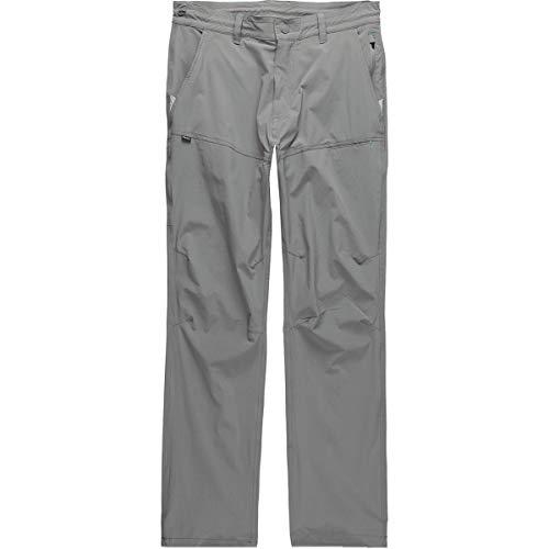 (Howler Brothers Shoalwater Men's Quick Dry Tech Pants (Light Grey, 32/32))