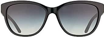 POLO by Ralph Lauren Women's Cateye Sunglasses- Black Frame PH4093-54998G56