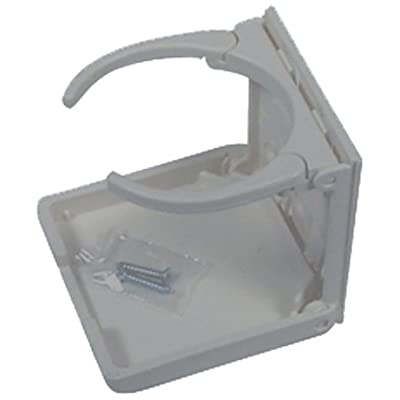 American Technology CH00100-GR-1 Collapsible and Adjustable Drink Holder - Gray: Automotive