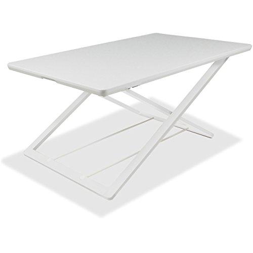 Lorell LLR99854 Slim Adjust Desk Riser, White by Lorell (Image #1)