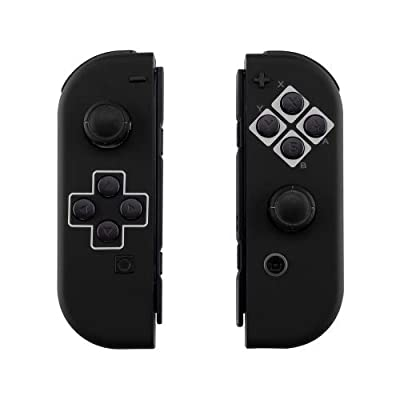 Image of Classic Black Switch Custom Joy-Con's Controllers Unique Design Games