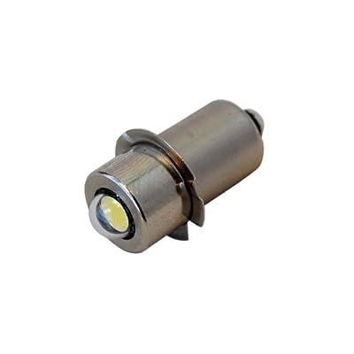 HQRP High Power 3w LED Bulb for Magnum Star II LMXA301 Xenon Lamp 3 Cell C & D Mag-Lite Flashlights replacement Bulb plus HQRP Coaster