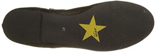 Ippon Vintage Patch-Dots, Stivali Chelsea Donna Nero (Noir)