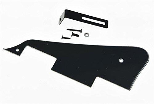 3-Ply Pickguard and Pickguard Bracket For LP Guitar Black - 4