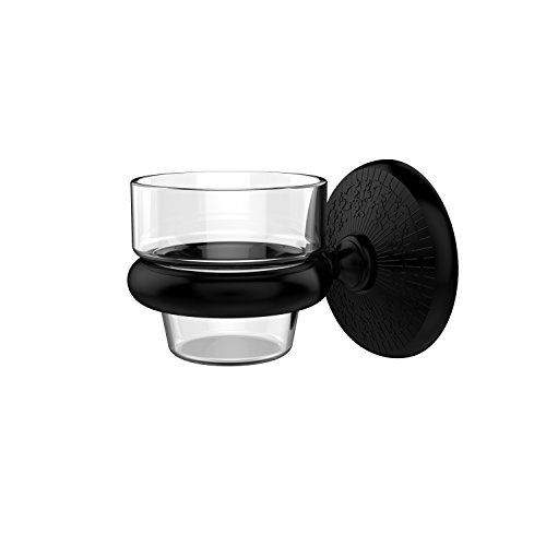 Allied Brass MC-64-BKM Monte Carlo Collection Wall Mounted Votive Candle Holder, Matte Black