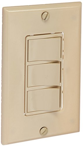 Function Wall Control - Broan 66V 3-Function Control, 20 amp.,120V, Ivory