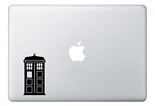 Doctor Who Tardis Macbook Laptop Decal Vinyl Decal Sticker